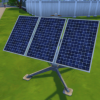 Functional solar panels and water heater