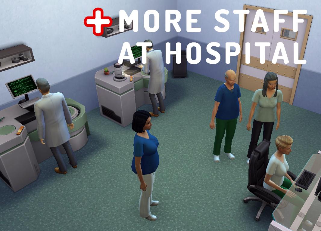 MoreHospitalStaff