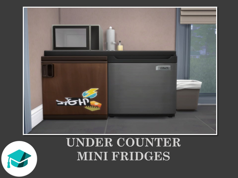 Under Counter Mini Fridges