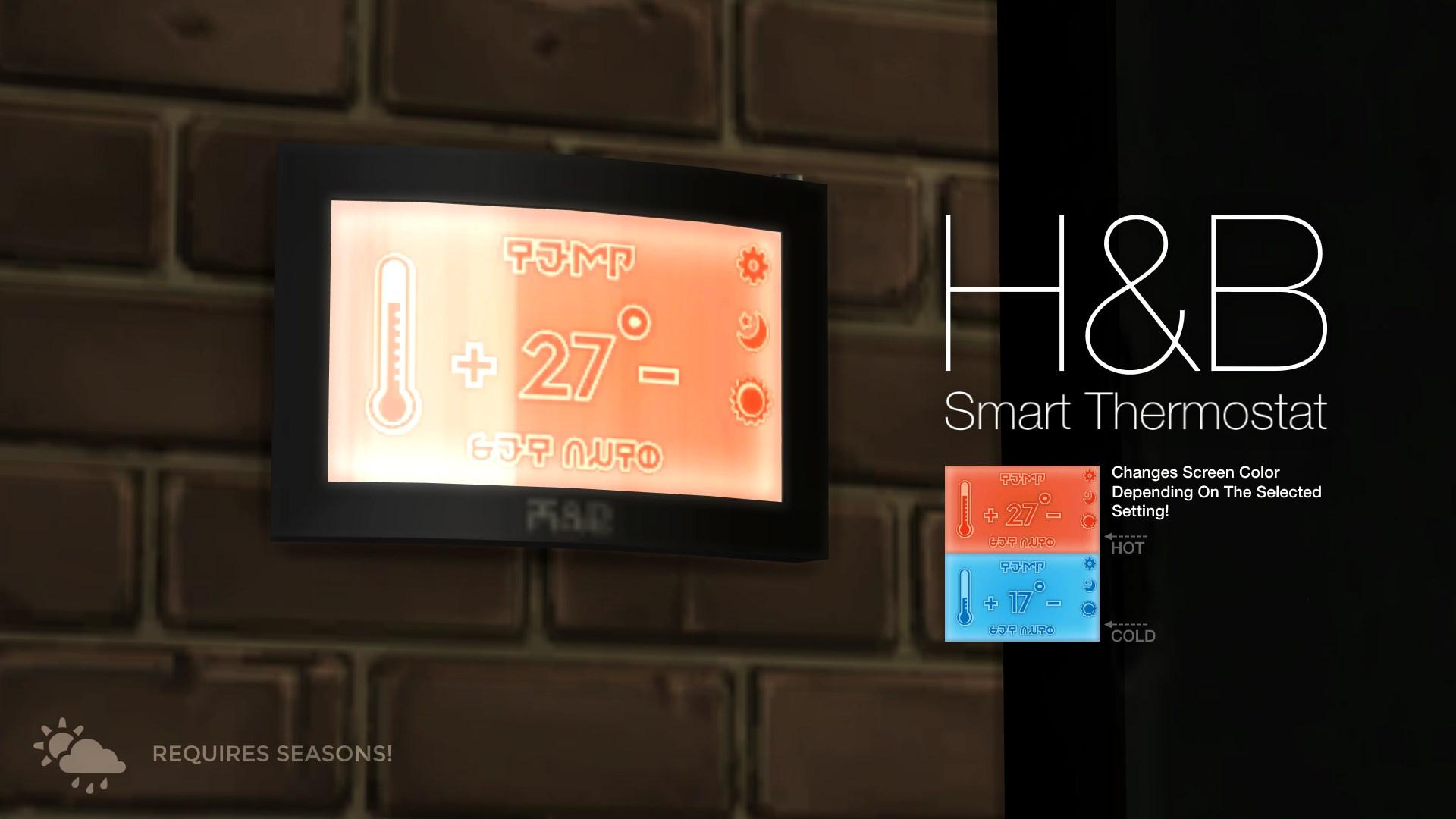 H&B Smart Thermostat